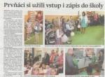 Školní zahrada v novinách